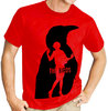 "Alfred Hitchcock ""The Birds"" - Mens Red Tee Shirt"