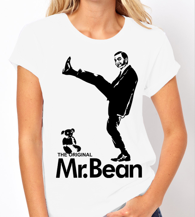 Mr Bean Television Comedy (Rowan Atkinson) - Ladies White Shirt