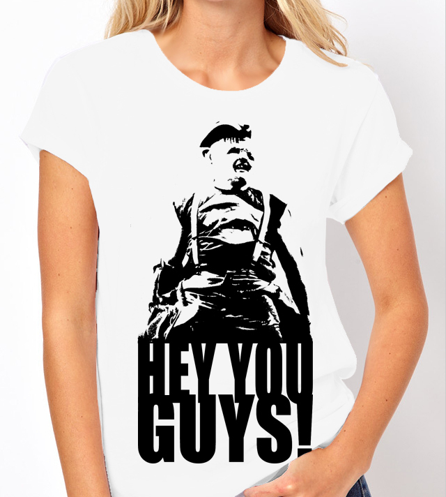 The Goonies (Spielberg) Hey you guys ! - Ladies Tee Shirt