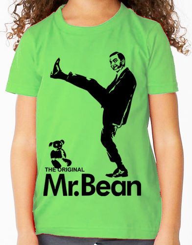 Mr Bean Television Comedy (Rowan Atkinson) - Childs Green Tee Shirt