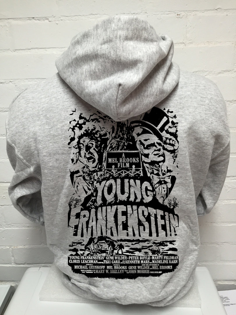 "Mel Brooks ""Young Frankenstein"" - Mens Grey Hoodie"