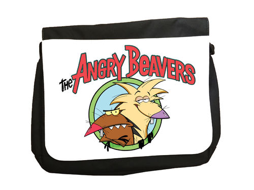 Angry Beavers TV Cartoon - Messenger Bag