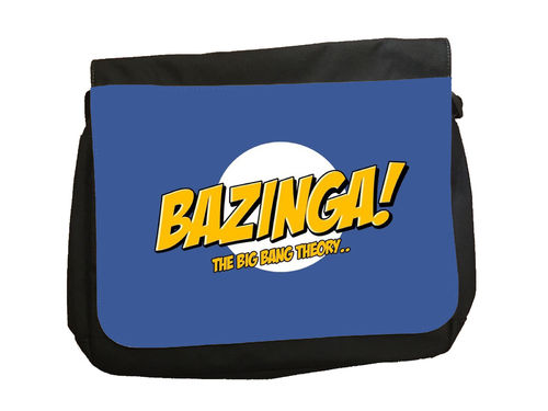 "Big Bang Theory ""Bazinga"" - Messenger Bag"