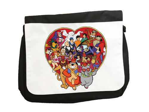 Hanna Barbera Cartoon Characters- Messenger Bag