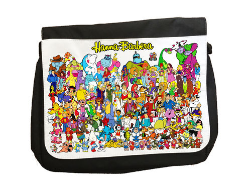 Hanna Barbera Cartoon Characters Version 2 - Messenger Bag