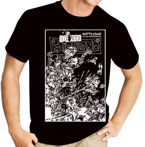 I Hate Fairyland (Comic Book Cover) - 2 Colour Variations - Mens Tee Shirt