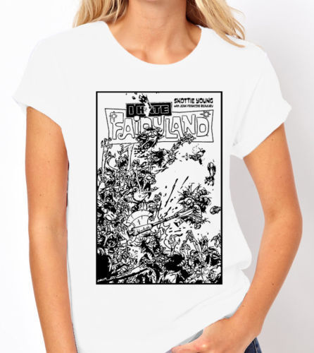 I Hate Fairyland (Comic Book Cover) - 2 Colour Variations - Ladies Tee Shirt