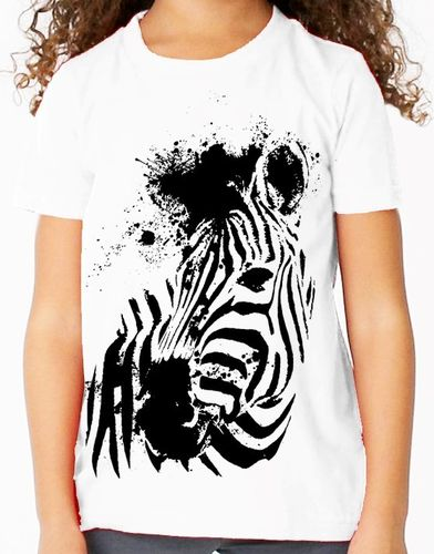 Endangered  Grevy's Zebra - Childs Tee Shirt