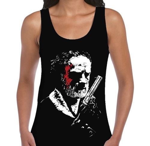 "AMC's The Walking Dead TV Show ""Rick Grimes"" - Ladies Black Vest"