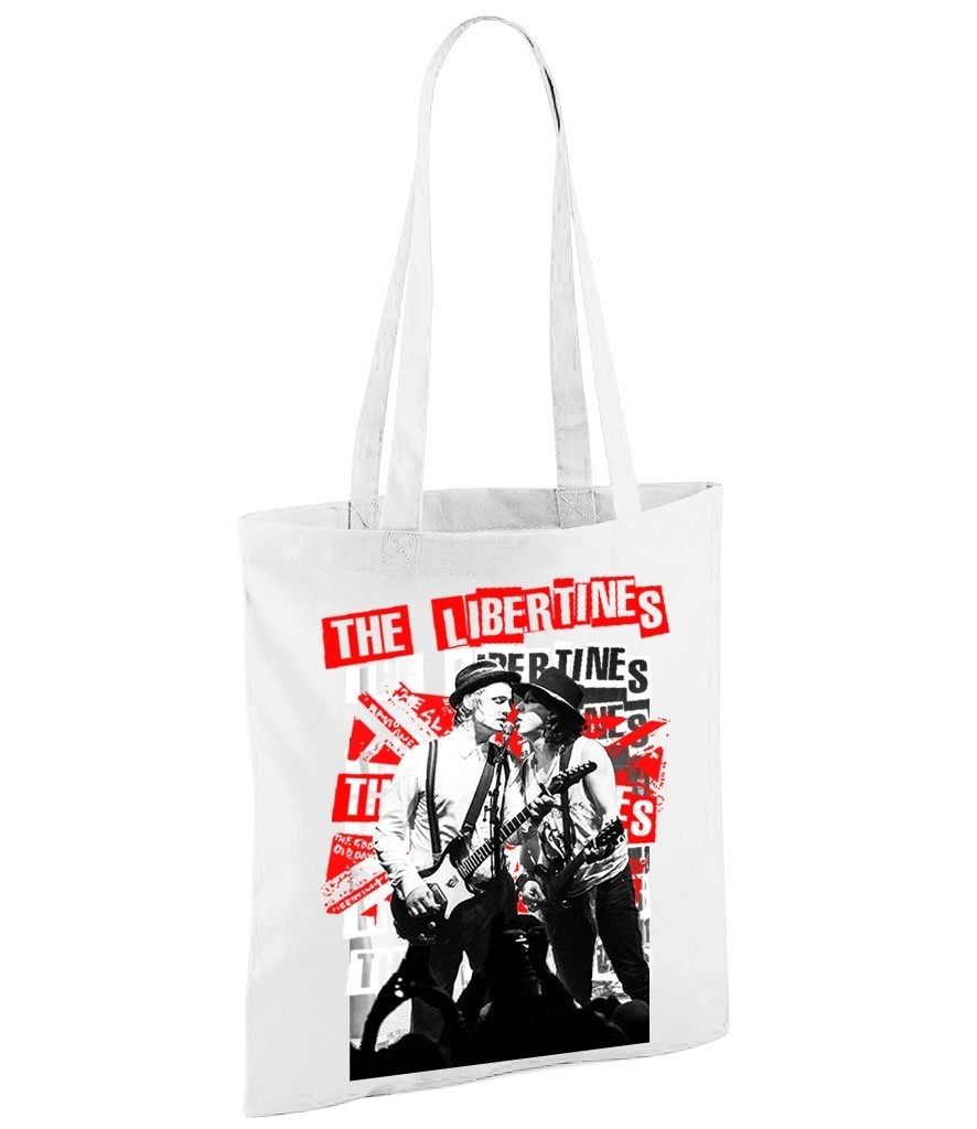 Libertines (Pete Docherty) - White Shopper Bag