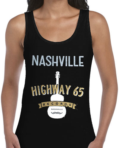 ABC Nashville - Ladies Black Vest