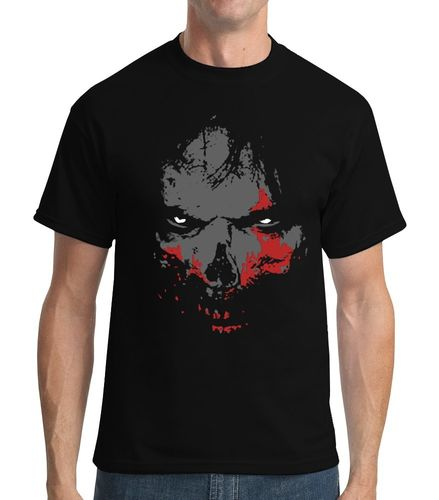 Walking Dead Zombie - Mens Black Tee Shirt
