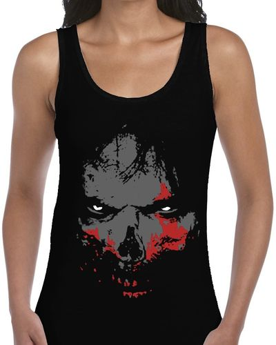 Walking Dead Zombie - Ladies Black Vest