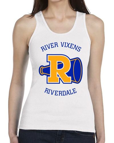 Riverdale Vixens - Ladies White Vest